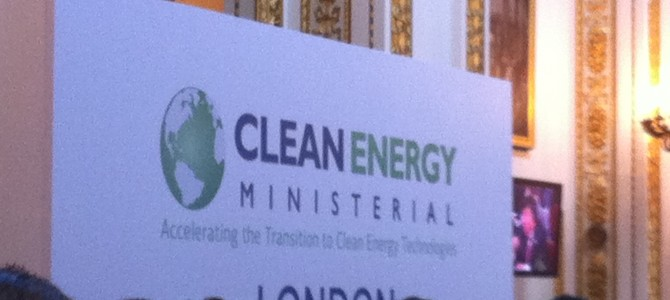 Clean Energy Ministerial and the Future of Renewable Energy