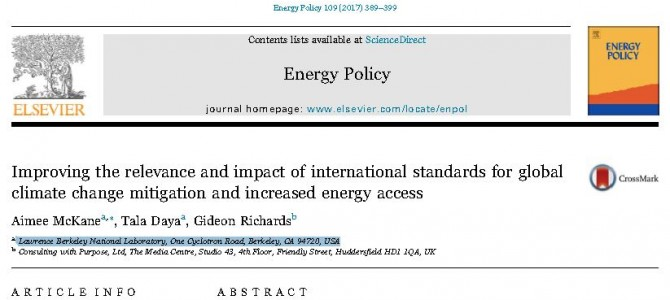 CWP in Energy Policy Journal