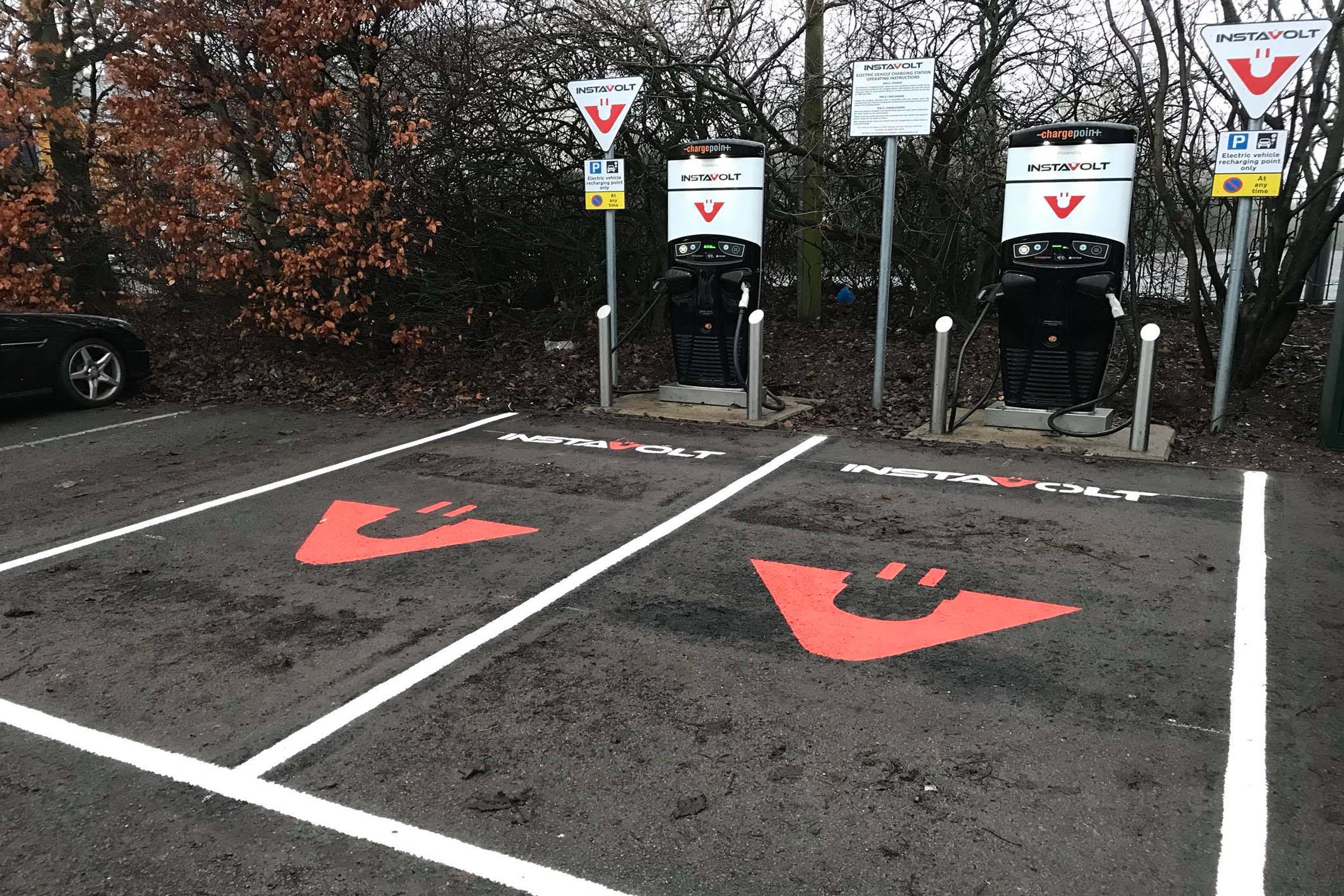 Electric Vehcile Rapid Charge Point